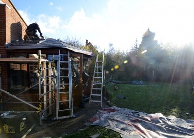 Replacement Conservatory Installation