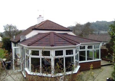 p shape special guardian roof